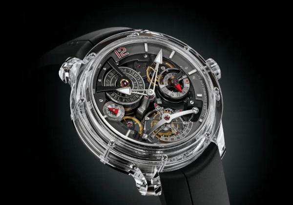 全透明蓝宝石手表将面世:晶莹剔透售价840万元的照片 - 1