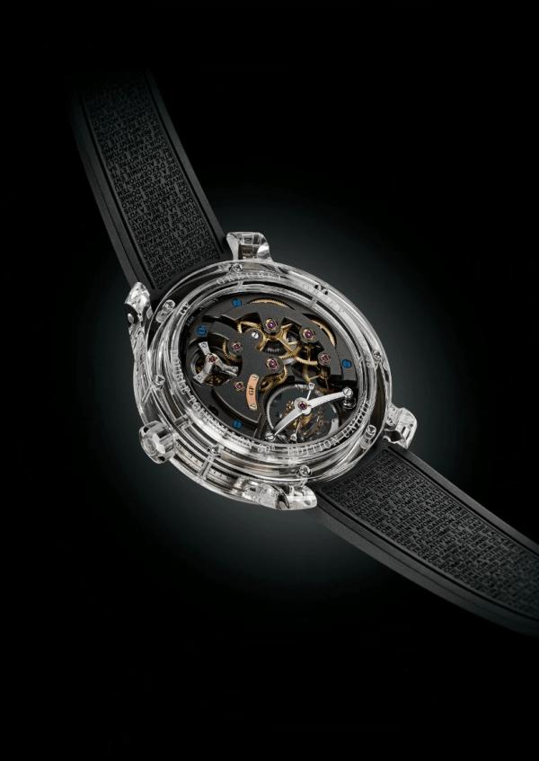 全透明蓝宝石手表将面世:晶莹剔透售价840万元的照片 - 2