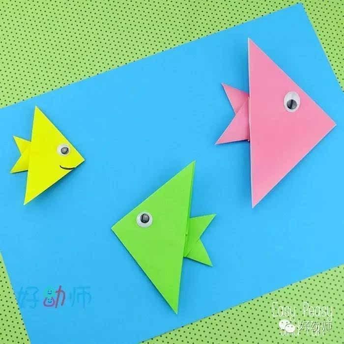 简单实用的幼儿折纸,你会折这些可爱的小动物吗?图片