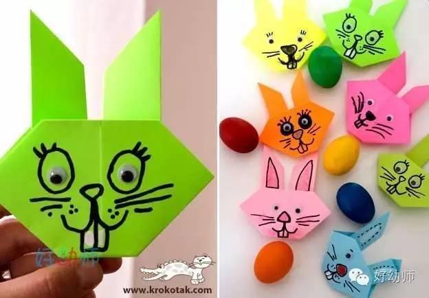 简单实用的幼儿折纸,你会折这些可爱的小动物吗?
