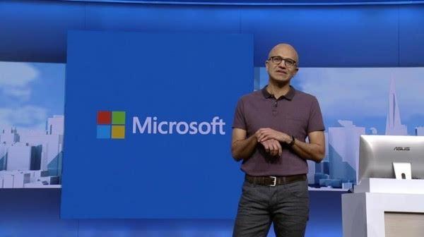 微软CEO纳德拉:Windows 10是一项服务而不是操作系统的照片