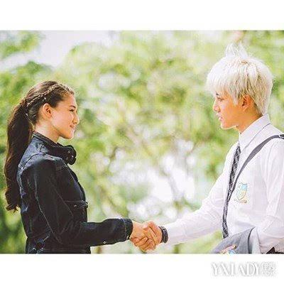 一吻定情mike泰国剧照 李海娜化身最萌软妹子图片