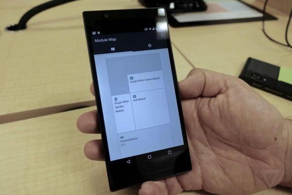 谷歌最新Ara模块化手机图赏:纯黑色机身的照片 - 10