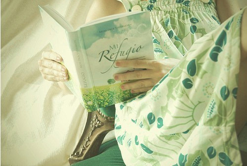 读书唯美女生图片 爱读书的女人最美丽