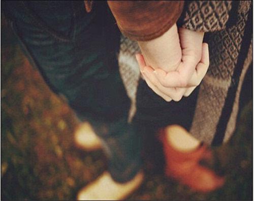 唯美情侣牵手图片 牵住我们的幸福