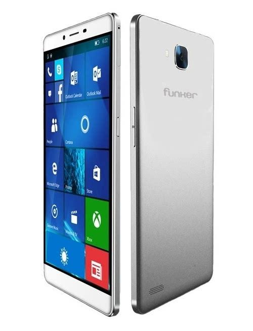 Windows 10 Moblie新机Funker W6.0 Pro 2开放预订的照片