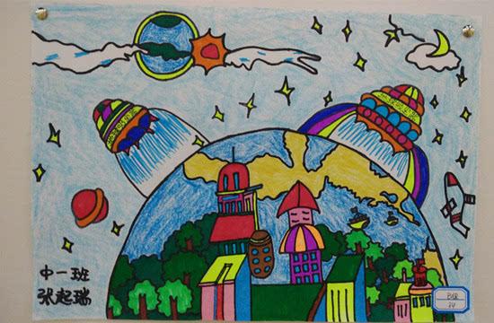 青岛市举办儿童慈善书画大赛 万幅童心作品放飞中国梦图片