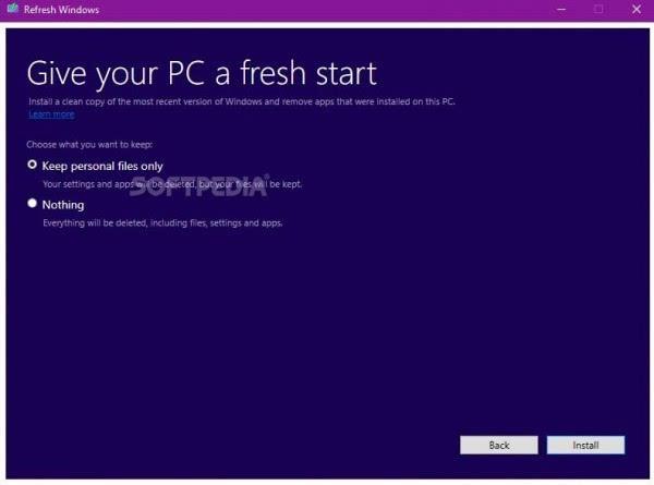纯净安装Windows 10官方工具使用体验的照片 - 1