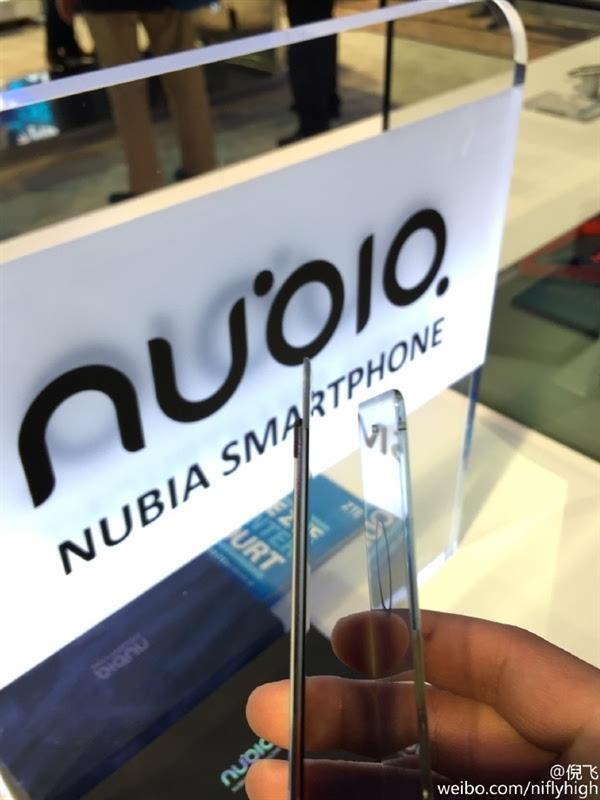 nubia自曝新旗舰Z11:无边框设计的照片 - 2