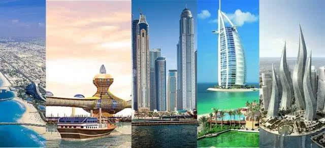 建筑奇观 迪拜·城市建筑的蓝本之作 迪拜的风中烛火大厦,是迪拜疯狂