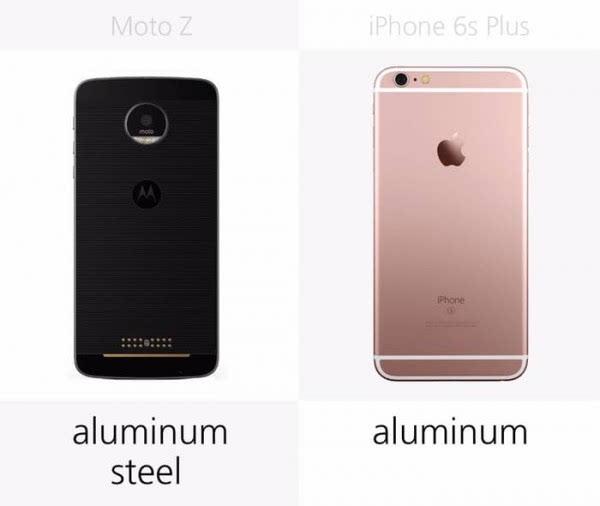 Moto Z和iPhone 6s Plus规格参数对比的照片 - 4