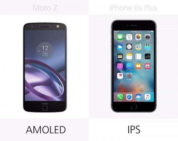 Moto Z和iPhone 6s Plus规格参数对比的照片 - 9