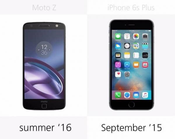 Moto Z和iPhone 6s Plus规格参数对比的照片 - 27