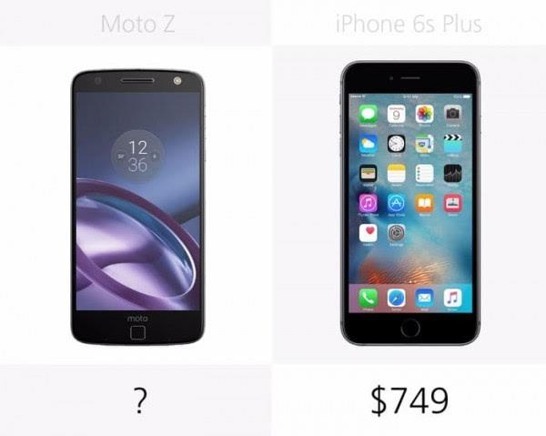 Moto Z和iPhone 6s Plus规格参数对比的照片 - 28