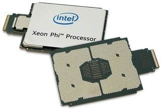 Intel发售新款Xeon Phi:72核288线程的照片 - 2