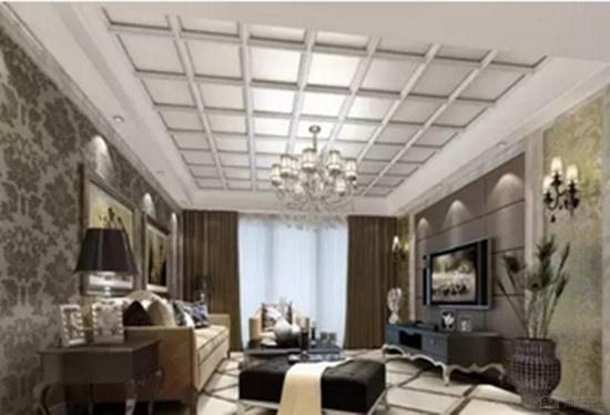 客厅吊顶造型 各式客厅吊顶搭配效果图