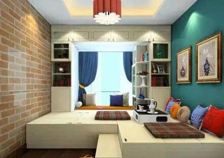 榻榻米装修,卧室榻榻米,阳台榻榻米,榻榻米空间利用