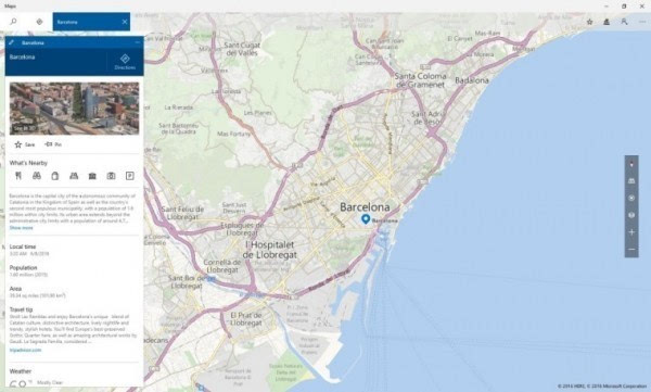 Windows Maps重大更新 并带来HERE迁移工具的照片 - 3
