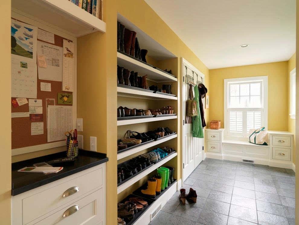 拐角鞋柜设计图片大全