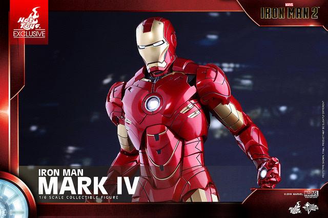 Hot Toys 钢铁侠2 1 6 钢铁侠马克4 Mark IV