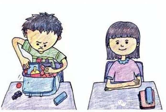 (二)小学生行为习惯养成图片