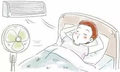 夏季幼儿午睡简笔画