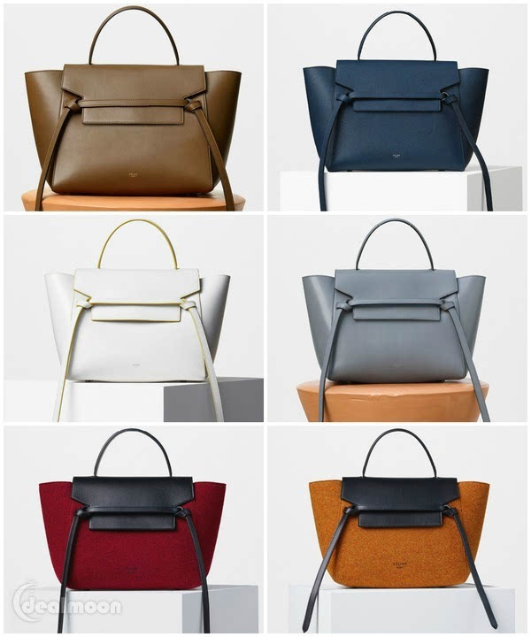 celine gray bag  celine belt bag :$2200+