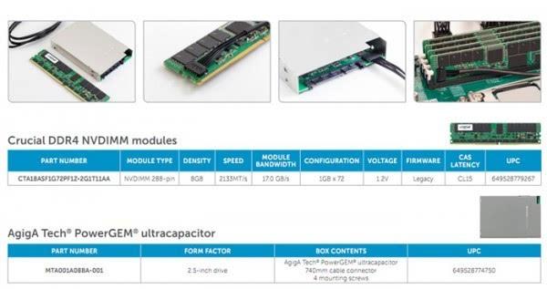 美光出货全球首个8GB NVDIMM内存 断电也不丢数据了的照片 - 2