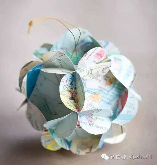 介绍的皱纹纸花