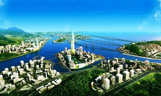 """横琴""""金融岛""""雏形已现 未来将媲美上海陆家嘴"""