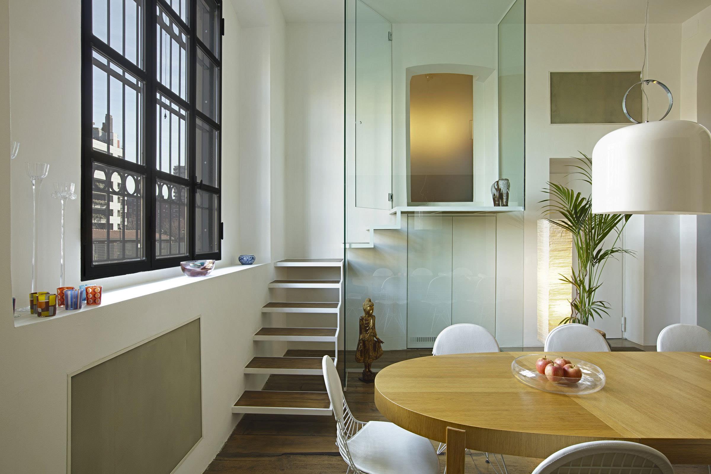 复式装修室内效果图_家与办公室的结合
