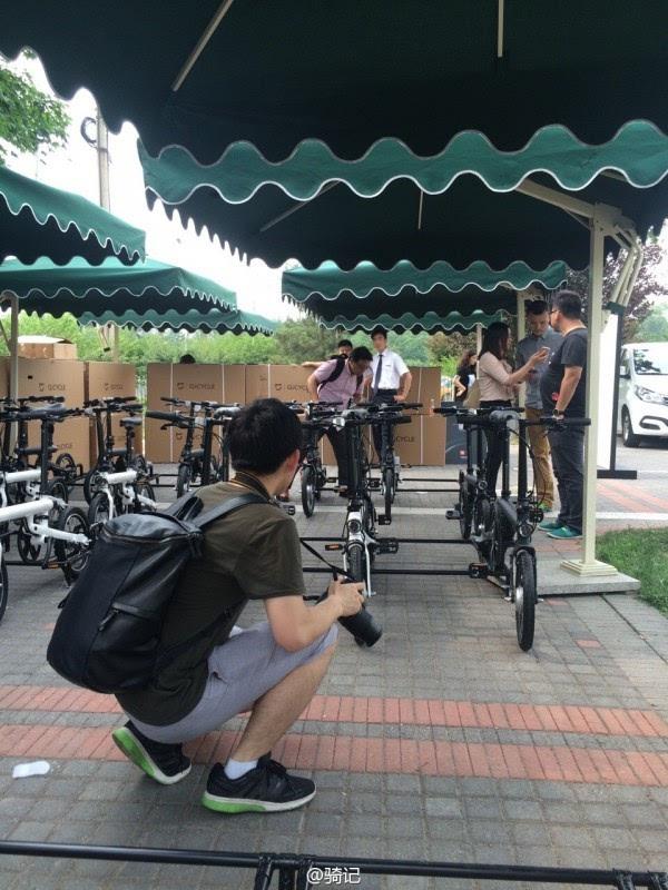 小米米家2999元电动助力自行车现场实拍:小巧玲珑的照片 - 3