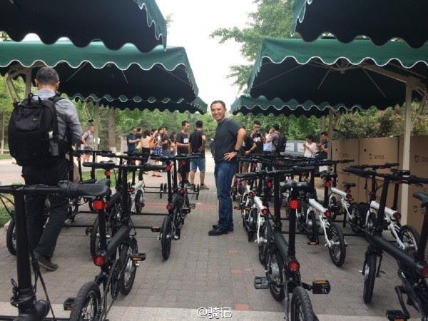 小米米家2999元电动助力自行车现场实拍:小巧玲珑的照片 - 5