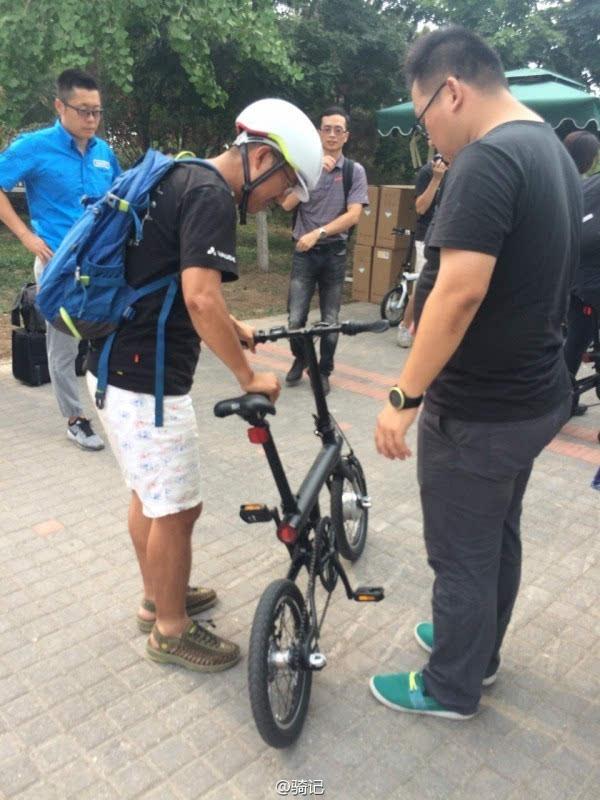 小米米家2999元电动助力自行车现场实拍:小巧玲珑的照片 - 6