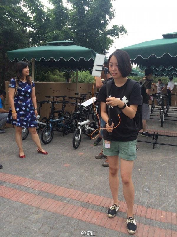 小米米家2999元电动助力自行车现场实拍:小巧玲珑的照片 - 8