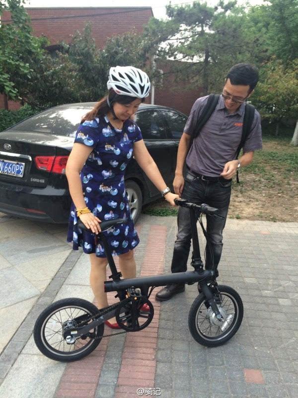 小米米家2999元电动助力自行车现场实拍:小巧玲珑的照片 - 9