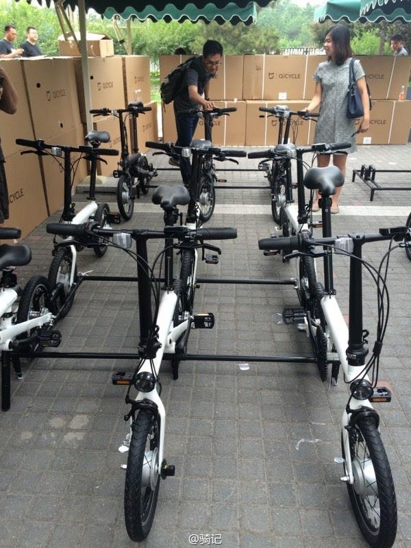小米米家2999元电动助力自行车现场实拍:小巧玲珑的照片 - 11