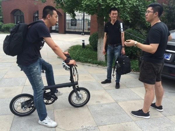 小米米家2999元电动助力自行车现场实拍:小巧玲珑的照片 - 12