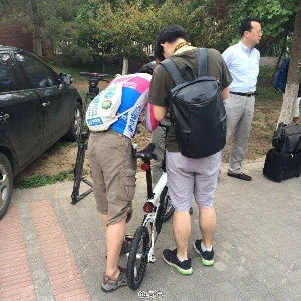 小米米家2999元电动助力自行车现场实拍:小巧玲珑的照片 - 13