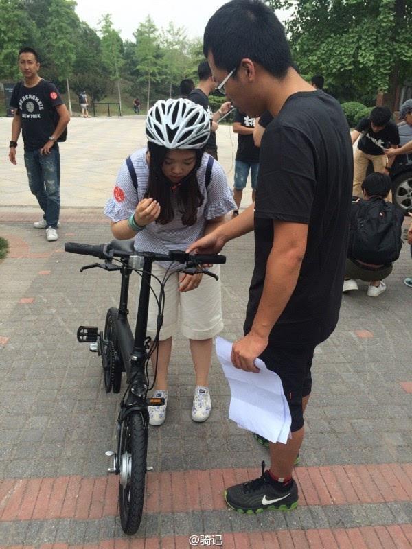 小米米家2999元电动助力自行车现场实拍:小巧玲珑的照片 - 15