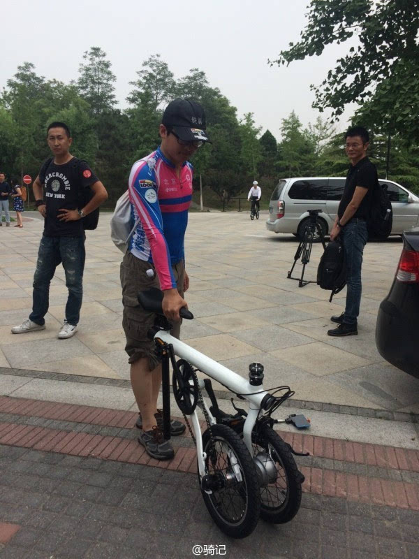 小米米家2999元电动助力自行车现场实拍:小巧玲珑的照片 - 16