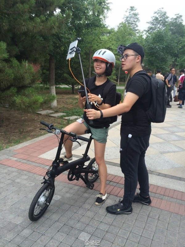 小米米家2999元电动助力自行车现场实拍:小巧玲珑的照片 - 17