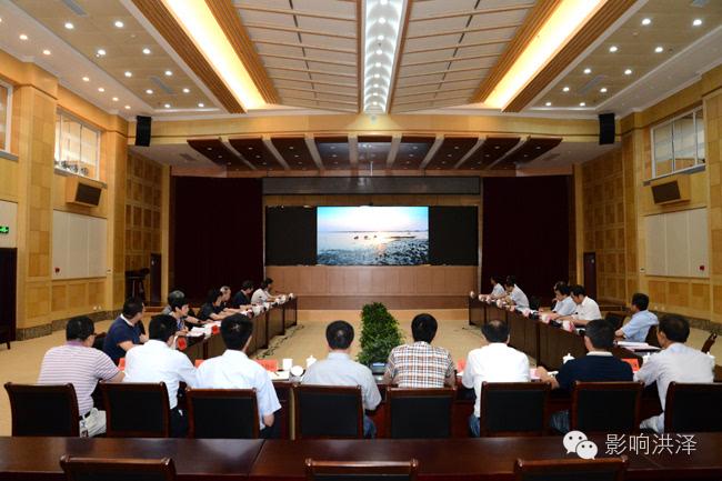 国务院参事室调研组到中国国际门窗城调研