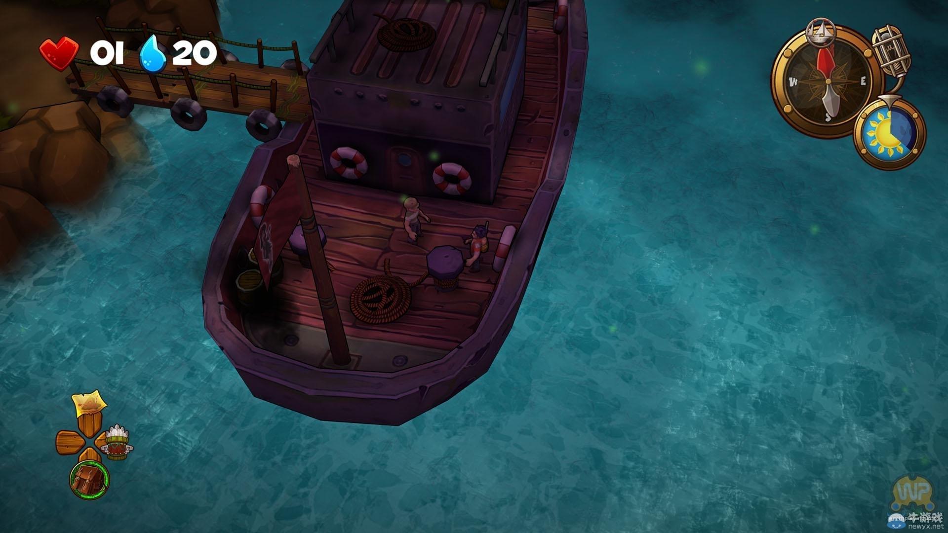 荒岛求生卡通冒险新作《迷失之海》发售日期6月29