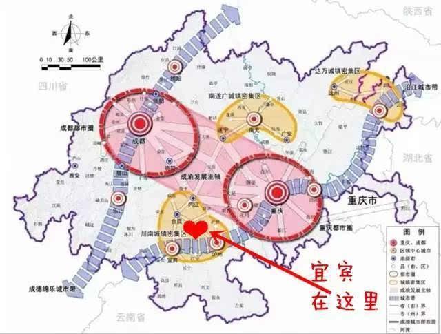 """""""成渝城市群"""",有这些兄弟姐妹~ 重庆市的渝中,万州,黔江,涪陵等 27 个图片"""