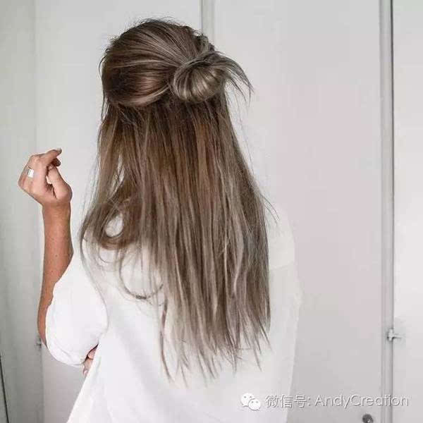 长头发可以图片