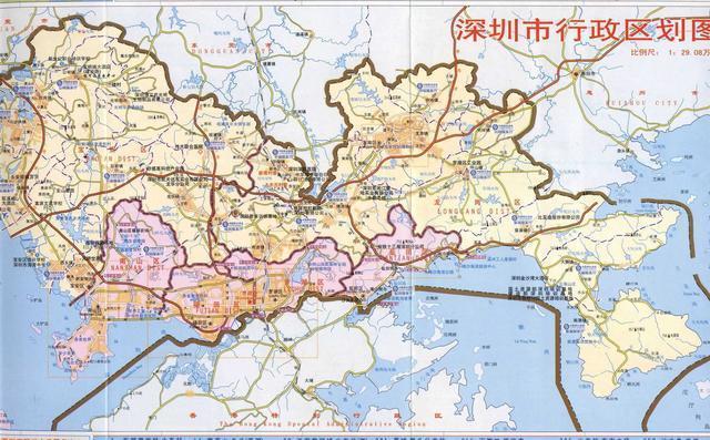 厦门翔安行政地图