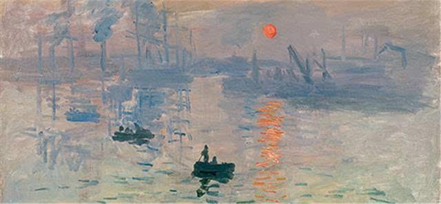日出手绘彩铅图