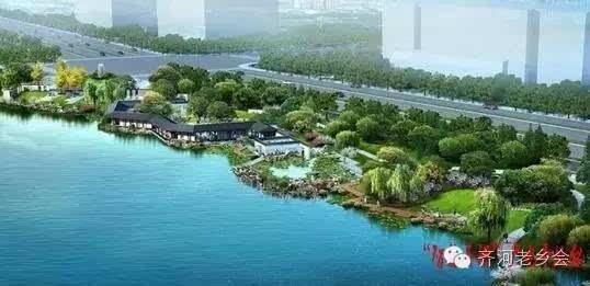 一幅关于美丽齐河的_一河四图五园八景 大清河 大齐河