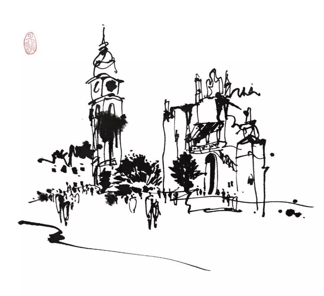 城市迷彩矢量图